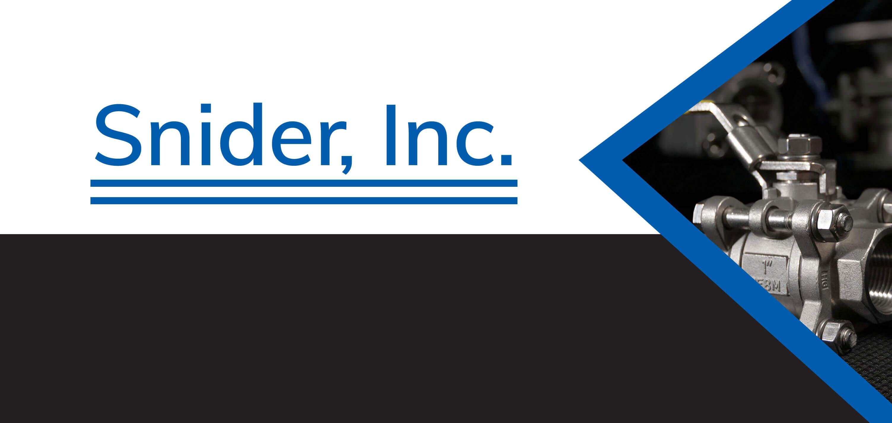 Manufacturers   Snider, Inc.
